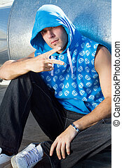 cool hip hop dude