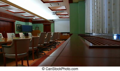 business cabinet meetings interior