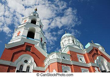 Island Valaam Spaso-Preobrazhenskiy cathedral - North Russia...