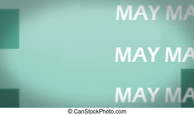 Animation of May