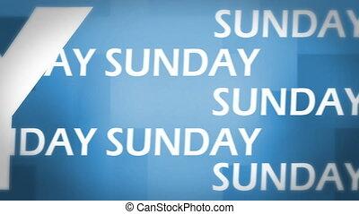 Sunday animation