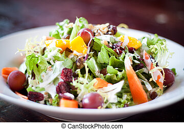 Cranberry Waldorf Salad - A delightful medley of fresh...