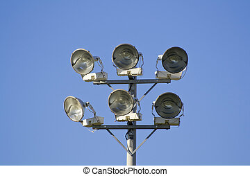 Field Lights - Fiels lights used to light up the sports...