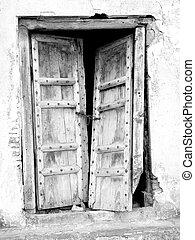 Vintage Ruined Door