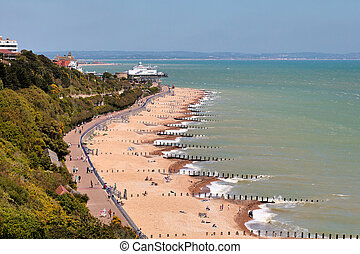 The promenade at Eastbourne
