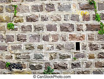 石頭, 牆