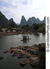 Yangshuo, river Yulong