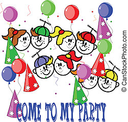 party invite for kids