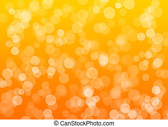 Bright orange dot background