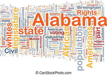 Alabama state background concept - Background concept...