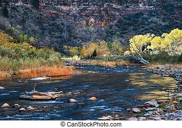 Zion National Park Utah autumn landscape