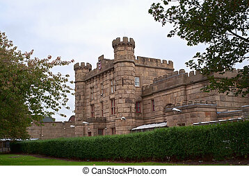 Preston castle - Castle in Preston city, UK