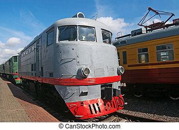 TE-2 locomotive - TE-2 series diesel locomotive