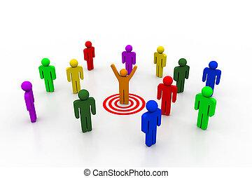 Team leader target