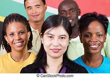 people diversity - group of diversity people