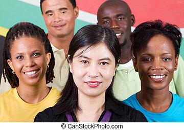 pessoas, Diversidade