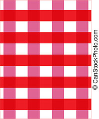 checkerboard tablecloth - red and white checkerboard picnic...