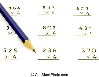 multiplication - Several operations of multiplication to...