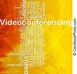 Videoconferencing background concept - Background concept...