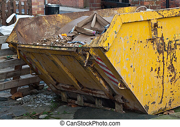 skip - large yellow skip