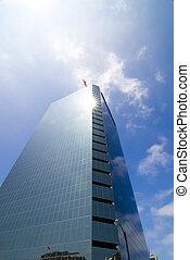 Glimmering Skyscraper