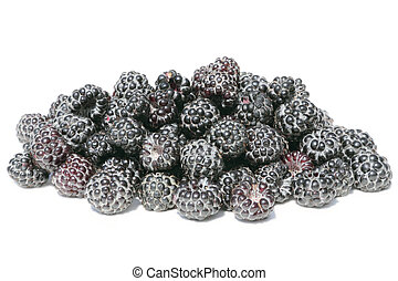 Black raspberry - Unusual sort of raspberry – black...