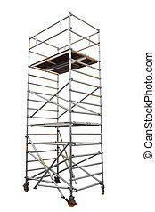 scaffold - The image of scaffold under the white background
