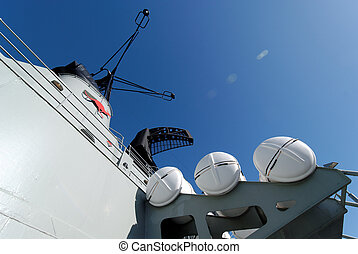 anclado, Submarino, guerra,  Sydney