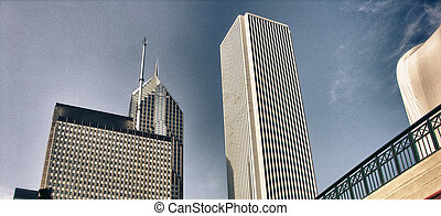 Skyscrapers of Chicago, Illinois