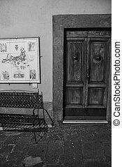 Castagneto Carducci, Italy - Detail of Castagneto Carducci,...