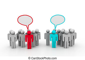 Social networking people - Social networking people with...