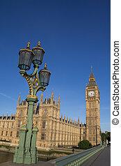 Big Ben and Lamp Post