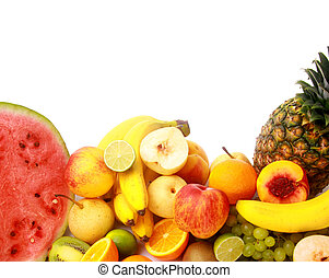 Ripe fresh fruit Wholesome food
