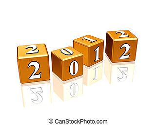golden cubes 2012