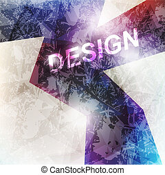 abstract bright technology vector background. For design.