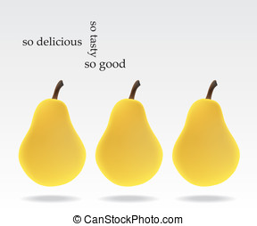 Pears - Delicious pears