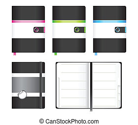 Moleskine notebook - Classic and modern custom-designed...