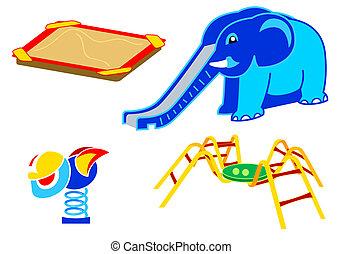 Playground equipment   Set 2