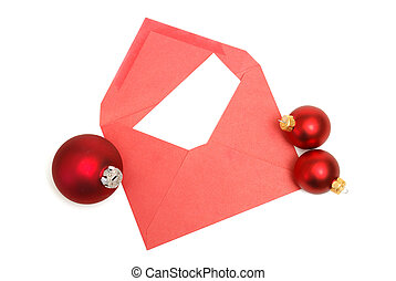Christmas Letter - A blank Christmas letter with easy insert...