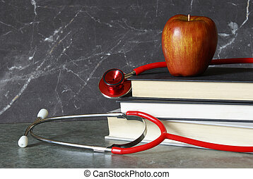 Medical Profession - A still-life consisting of a medical...