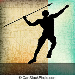 The Javelin, Athletics Background