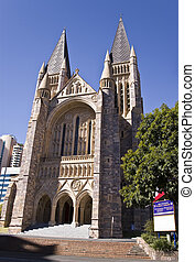 Cathedral - St John Cathedral Anglican in Brisbane,...