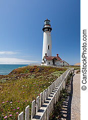 Pigeon Point Lighthouse is a lighthouse built in 1871 to...