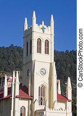 St Michaels Cathedral at Shimla Shimla Hill Station The Mall...