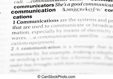 Definition of communication - Definition of the term...