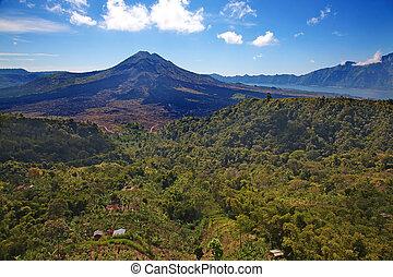Batur volcano