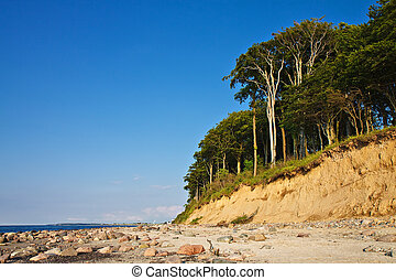 The Baltic Sea coast at Heiligendamm.