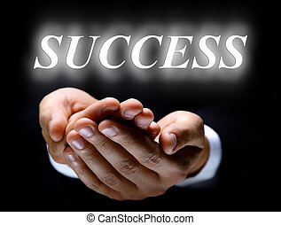 word success and hands