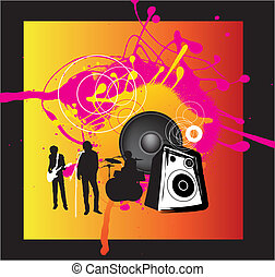 music band rock background