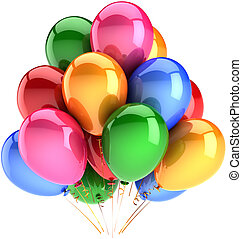 Helium balloons party decoration - Party balloons decoration...